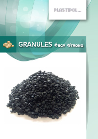 Granules RacyStrong LD-PE and HD-PE from separate collection and agricultural film produced by PLASTIPOL