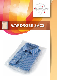 Wardrobe sacs Plastipoliver materie plastiche