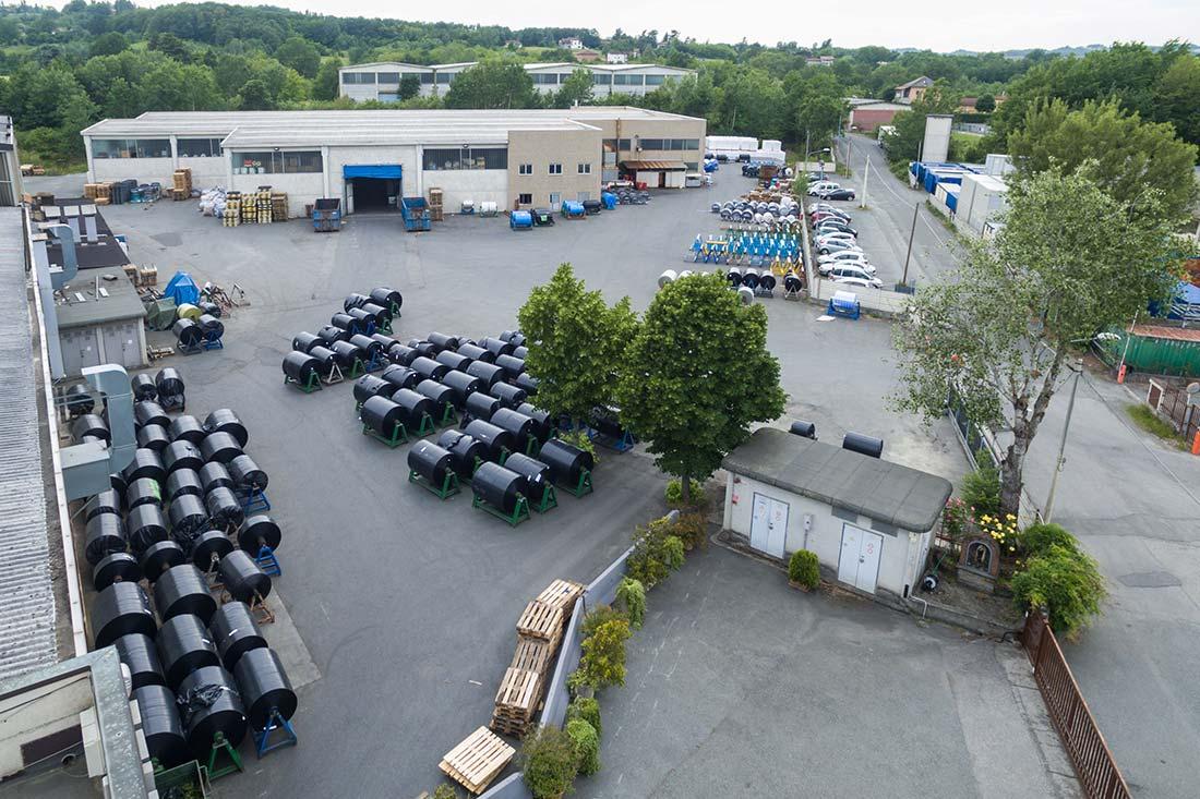 Plastipoliver manufacture of plastics in Piemonte, Italy